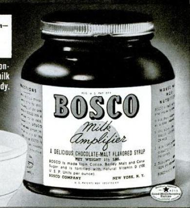 Bosco Chocolate Syrup Rabbit