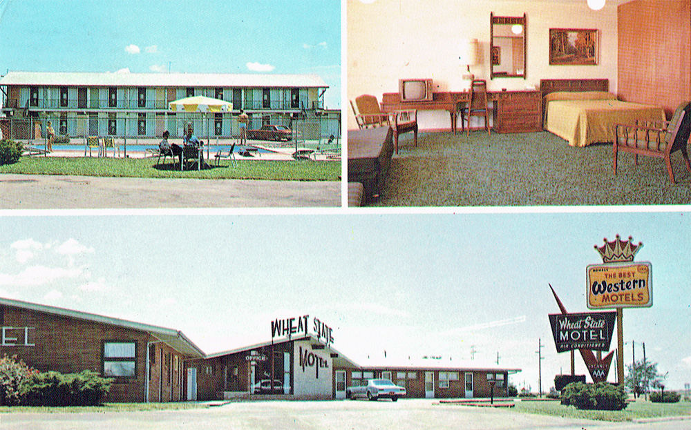 Lileks James Motel Postcards