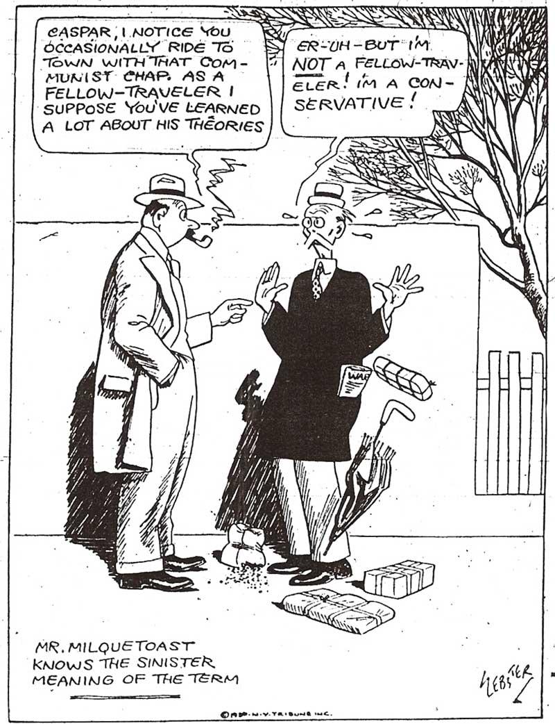 LILEKS (James) Comics :: Caspar Milquetoast
